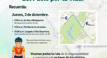 image for Invitación firma Pacto por la vida y la responsabilidad vial   30 de noviembre de 2020