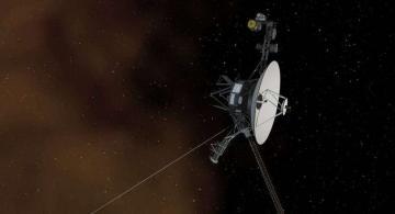 Voyager 2 en el espacio