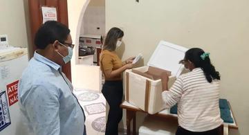 image for  Remessa de vacinas chegou em Tabatinga / Programa Nacional de Imunização