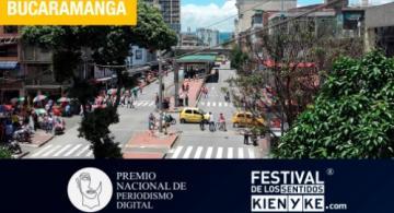 Calle de la ciudad de Bucaramanga