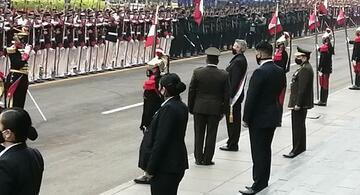 image for El presidente Francisco Sagasti abandonó la Catedral de Lima