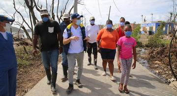 image for Mesas de socialización y concertación para la reconstrucción de Providencia