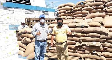 image for Llegan semillas certificadas de arroz a Iquitos