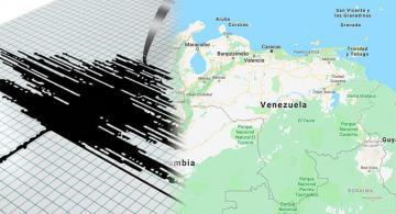 Imagen recreando el sismo en Venezuela