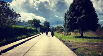image for Continuidad a la construcción de las vías hasta el km 25