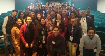 Participantes del primer taller de periodismo regional en Tunja