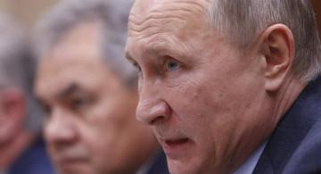 Putin en una reunion
