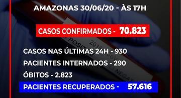 image for Veja os números de casos confirmados por município / Covid-19
