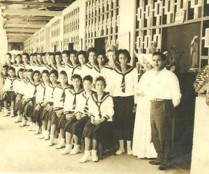 Alumnas del colegio la salle en la ciudad de la Leticia