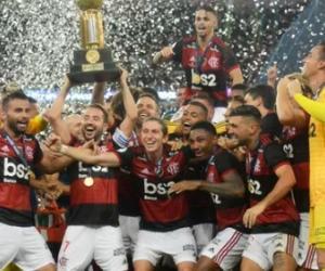 image for Flamengo conquista a Recopa Sul-Americana