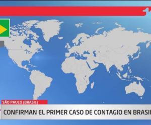 image for Brasil el primer caso de Coronavirus en Suramérica