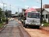 image for Estrada Perimental  no bairro Santa Rosa está recebendo o concreto armado
