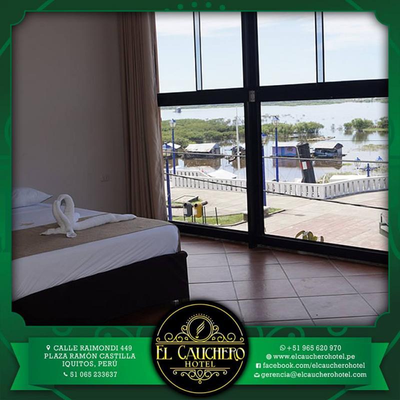 Habitacion de hotel en Cauchero Hotel Iquitos