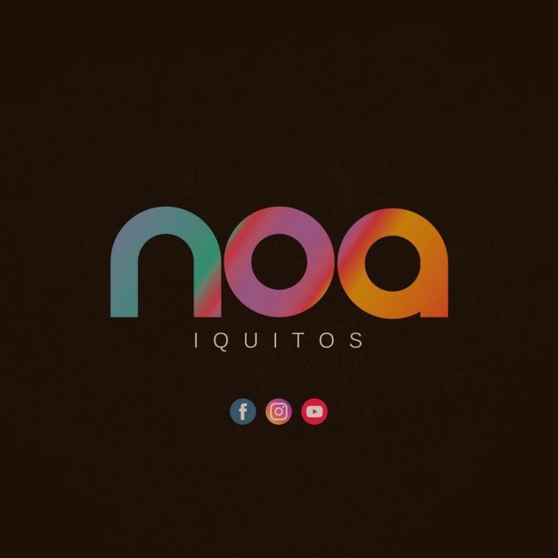 Logo del bar noa en iquitos