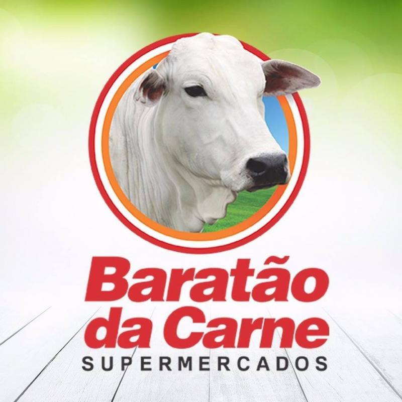 logotipo da empresa Baratao da Carne